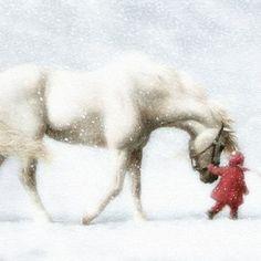 Horse and child | Horse and child | Horse Therapy | Pinterest