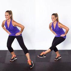 Top 10 NEW exercises for thinner thighs...  www.BelindaGriego.EatLessFeelFull.com