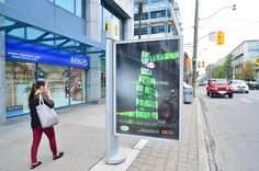 Street Column / Colonne de rue - #Toronto #StreetFurniture #OutdoorAdvertising #AffichageExterieur #AstralOutOfHome #AstralAffichage #Publicite #Ads #Billboard #PanneauAffichage