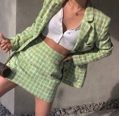 Retro Outfits, Grunge Outfits, Trendy Outfits, Vintage Outfits, Summer Outfits, Cute Outfits, Fashion Outfits, Blue Skirt Outfits, Clueless Fashion