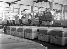 VW Bulli Fertigung 1950