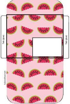 watermelon envelopes,printable envelopes