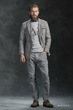 Сочетание классики и молодежной моды - главный принцип осенней мужской коллекции…