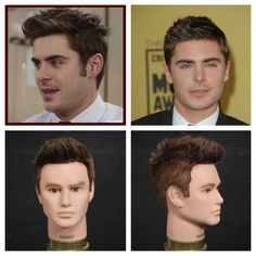 Zac Efron Haircut & Hairstyle Tutorial POST YOUR FREE LISTING TODAY! Hair News Network. All Hair. All The Time. http://www.HairNewsNetwork.com