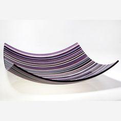 PHUZED GLASS PLATTER  Materials: Glass  Options: Color