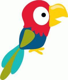 Baby Toucan, Parrot Craft, Art Activities For Toddlers, Felt Animal Patterns, Baby Clip Art, Echo Park Paper, Paper Birds, Bird Crafts, Cute Clipart