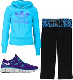 """""""Nice workout or lazy day outfit"""" by atdance on Polyvore"""
