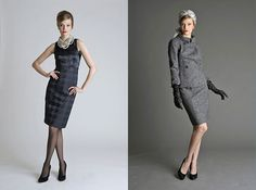 Mad Men Collection for Banana Republic - The look on the right is too fantastic for words.