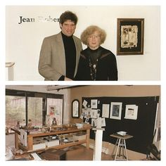 Russ DeVeau and Jean Roberts in the Hartford College for Women Art Gallery | Russ DeVeau at Hartford College for Women | Scoop.it