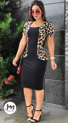 Cute and Trendy Professional Attire for Women African Attire, African Dress, Covet Fashion, Fashion Looks, Womens Fashion, Formal Dress Patterns, Casual Dresses, Fashion Dresses, Professional Attire