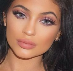Kylie Jenner turned her life around by getting her lips done. They do suit her face! Beauty // Makeup // Skincare // Injections