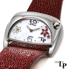 Excellent Quality LP Italy Stainless Steel Swiss Watch with Diamonds, Retail $2,495