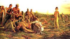 What Happened After The Mahabharata War Is Something You Weren& Taught In School. Mahabharata is a nearly perfect example . Krishna Love, Krishna Art, Lord Krishna, Krishna Leela, Krishna Images, Radhe Krishna, Indian Gods, Indian Art, Hindu Rituals