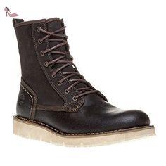 Timberland A17XN hommes Marron foncé cuir Bottine, EU 42 - Chaussures timberland (*Partner-Link)