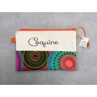 Trousse plate message Coquine