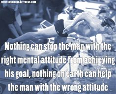 """""""Nothing can stop the man with the right mental attitude from achieving his goal, nothing on earth can help the man with the wrong attitude"""""""