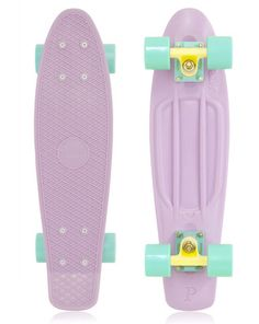 "Penny Skateboards Pastels Pastel Series Lilac Mint Cruiser Board Skateboard 22"" i have this exact one its sooooooooooo amazing"