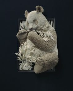 Ontario-based artist Calvin Nicholls has lent his deft hands to the making of incredibly intricate and realistic cut-paper work that features a lifelong interest of his⎯Canadian wildlife.