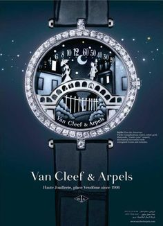 van cleef and arpels watch