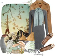 """""""Springtime in paris"""" by fiona-stanley ❤ liked on Polyvore"""