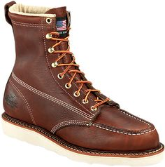 Thorogood 814-4201 - Men's 8  Inch Moc Toe Non-Safety - Style