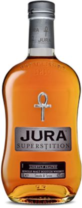 Jura Superstition Whisky - lightly peated, slightly smoky from the Isle of Jura