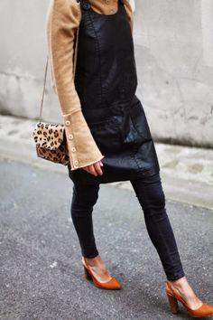 dress, over, pants, outfit, idea