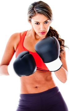 How to Lose Weight with Boxing - Punching bag workouts are some of the most effective calorie-burners/ muscle toners in one.