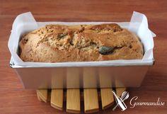 Gourmandise Pound cake com pasta de amendoim, cítricos cristalizados, cranberry e nibs de cacau