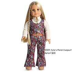 RETIRED American Girl Doll Julie Casual Outfit Boots Shoes ONLY