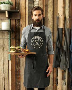 Denim Apron in 4 classic denim shades Cafe Uniform, Waiter Uniform, Hotel Uniform, Uniform Shirts, Work Uniforms, Outdoor Restaurant Patio, Modern Restaurant, Restaurant Ideas, Restaurant Aprons