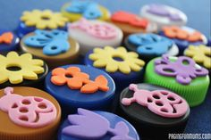 Bottle Top Stamps! So easy & inexpensive AND you're recycling! WIN!