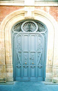 Blue Door: Casa Lis ~ Salamanca by curry15, via Flickr