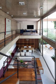 Casa Jardins | CR2 Arquitetura #living #circulation