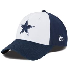 aa9e0cbdcb1 Get ready for the season with this Dallas Cowboys Relaxed fitted hat from New  Era! It features festive Dallas Cowboys graphics that ll let everyone know  ...