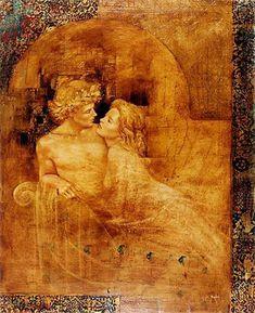 Romeo et Juliette by Csaba Markus (b1953)