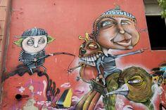 GRAFFITI EN VALPARAISO - 2010 by Josef. Valparaiso, Chile