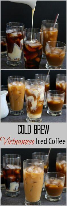 Cold Brew Vietnamese Iced Coffee #Coffeedrinks #icedcoffee