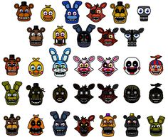 FNAF World by What-The-Frog