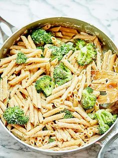Vegan Broccoli Alfredo
