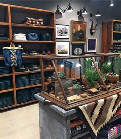 Matthew McConaughey's Favorite Austin Clothing Store Makes a Big Statement in Dallas Mens Store Display, Store Displays, Room Store, Store Interiors, Matthew Mcconaughey, Commercial Interiors, Retail Design, Home Crafts, Dallas