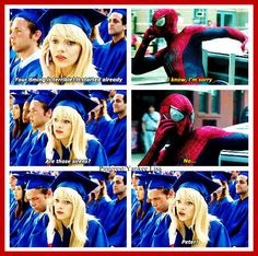 Andrew Garfield and Emma Stone - The Amazing Spider-Man 2