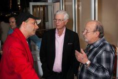 Glozal's Tarek Kirschen with Joel Pashcow and Mickey Weissman