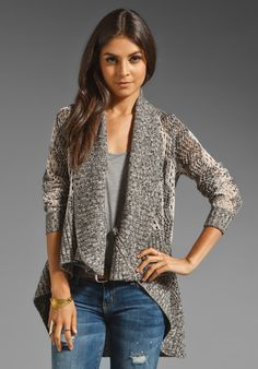 ALICE + OLIVIA Riley Diamond Stitch Sweater in Beige Multi at Revolve Clothing - Free Shipping!