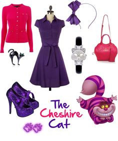 """The Cheshire Cat"" by rubylebeau on Polyvore"