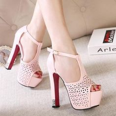 Female High-Heeled Sandals ..