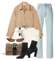 """""""Sin título #4289"""" by camilae97 ❤ liked on Polyvore featuring Yeezy by Kanye West, 3.1 Phillip Lim, Free People and Gianvito Rossi"""