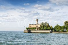 Germany, Baden Wuerttemberg, View of Montfort Castle on Lake Constance