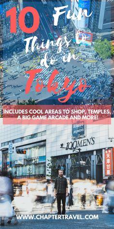 Fun things to do in Tokyo | Tokyo, Japan | What to do in Tokyo | Love Tokyo | Tokyo Inspiration | Parks in Tokyo | Harajuku Tokyo | Shibuya Intersection | Japan Cities | Akihabara Electric Town | Ginza Pedestrian Paradise | Golfen Gai | Pompompurin Café | Temples in Tokyo | Unique places in Tokyo | Kawasaki Warehouse Tokyo