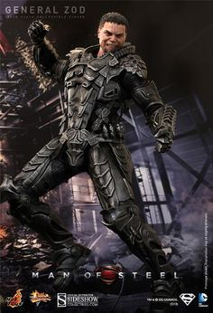 Hot Toys Movie Masterpiece Series Man of Steel: General Zod 1/6 Scale 12″ Figure